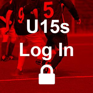 Under 15 Log in